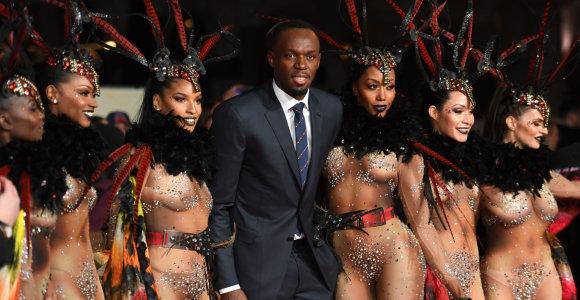 Londone iškilmingai pristatytas filmas apie Usainą Boltą