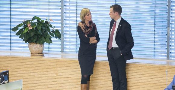 A.Bilotaitė atsiima kandidatūrą į konservatorių partijos pirmininkus G.Landsbergio naudai
