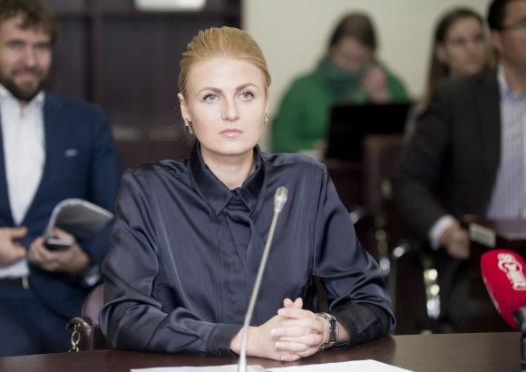 15min.lt nuotr./Greta Kildišienė atsisakė Seimo nario mandato