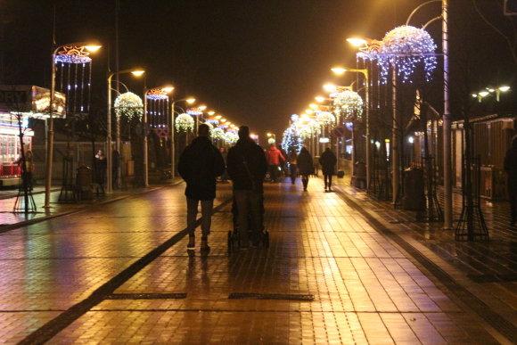 A.Jašinskienės/15min.lt nuotr./Palanga per šias Kalėdas primena pasakų miestą