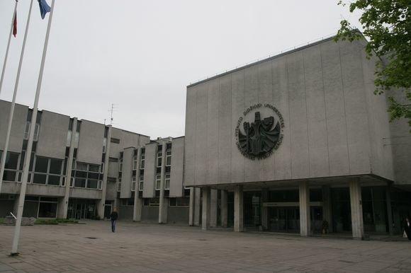 """Eriko Ovčarenko/dienraščio """"15 minučių"""" nuotr./Vytauto Didžiojo universitetas"""