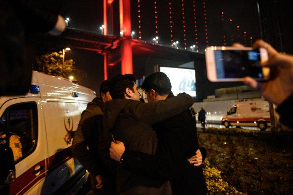 """Scanpix""/AP nuotr./Išpuolis Stambule"
