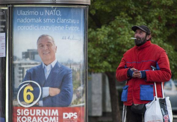 """Scanpix""/AP nuotr./Rinkimai Juodkalnijoje"