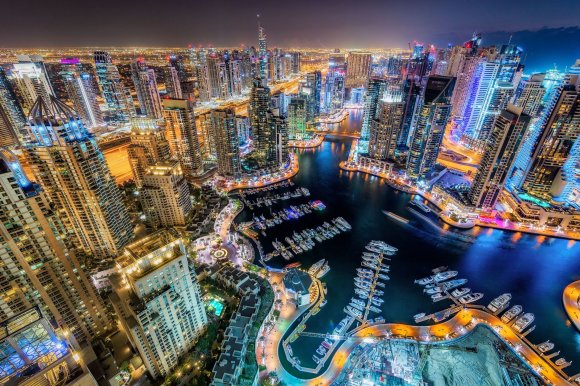 """Scanpix""/""Caters News Agency"" nuotr./Dubajus naktį"