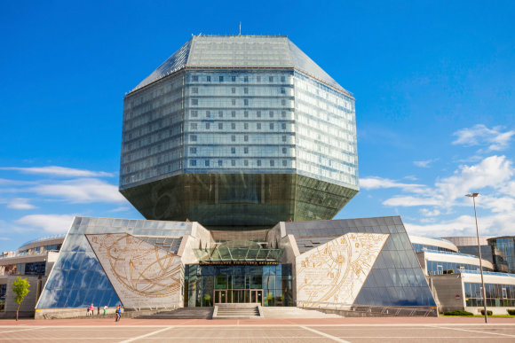 123rf.com nuotr./The National Library Of Belarus