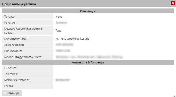 """Elektroninėje sistemoje """"Infostatyba"""" galima prieiti prie asmeninių Lietuvos gyventojų duomenų"""