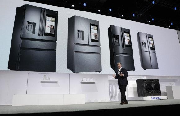 """Scanpix""/AP nuotr./""Samsung"" šaldytuvai"