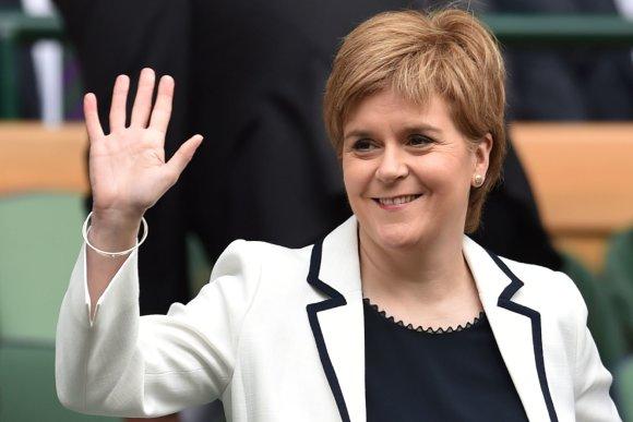 """Scanpix"" nuotr./Škotijos premjerė Nicola Sturgeon"