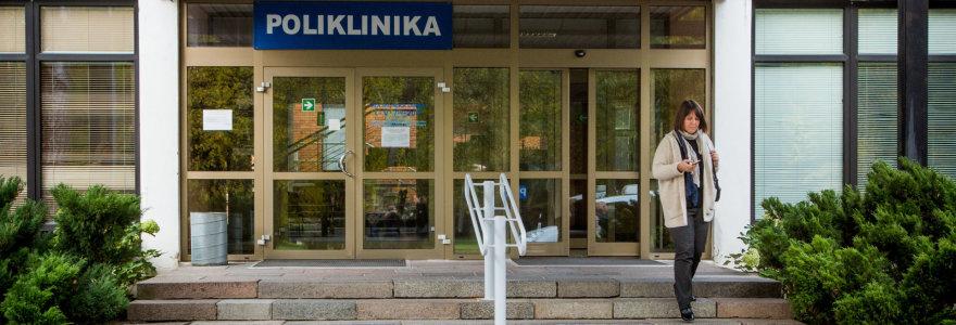 Laiptai į Vilniaus ligoninės pastatą Antakalnyje – iš žydų paminklinių akmenų