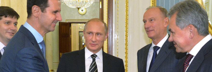 Rusija Sirijoje jau išbandė 162 naujus ginklus