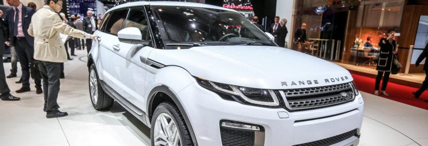 """Gretos Kildišienės išgarsintas """"Range Rover"""": mėnesinė įmoka – didesnė už minimalią algą"""