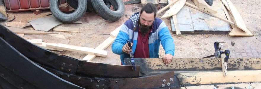 Kretingos rajone gimsta unikalus vikingų epochos laivas