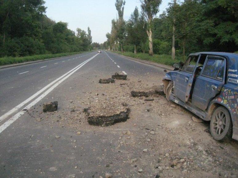 Eismo įvykis Ukrainoje