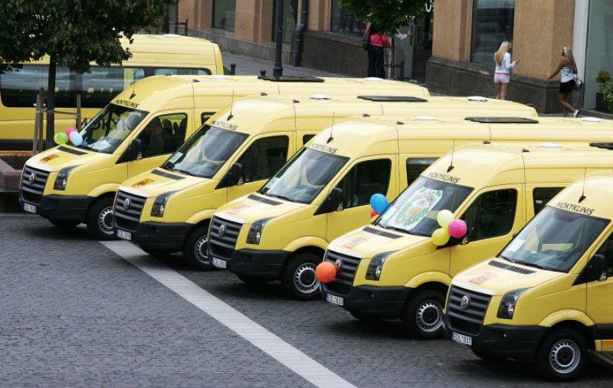 Geltonieji autobusai