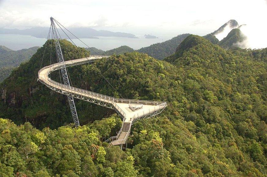 Langkawi dangaus tiltas Malaizijoje
