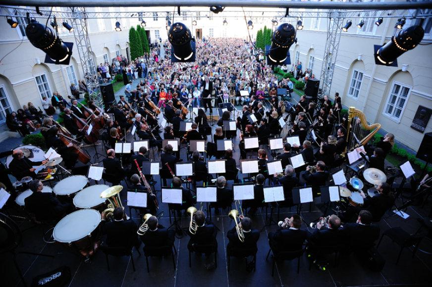 LVSO vasaros koncertas