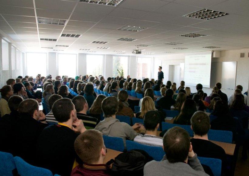 """Vilniaus kolegijoje praūžė """"Verslumo savaitė""""."""