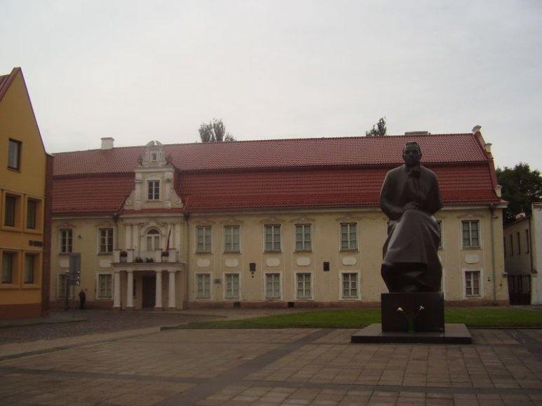 Maironio namas Kaune, dabar virtęs muziejumi.