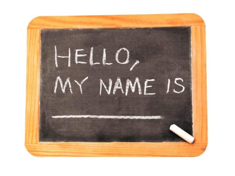 """Lenta: """"Labas, mano vardas ..."""""""