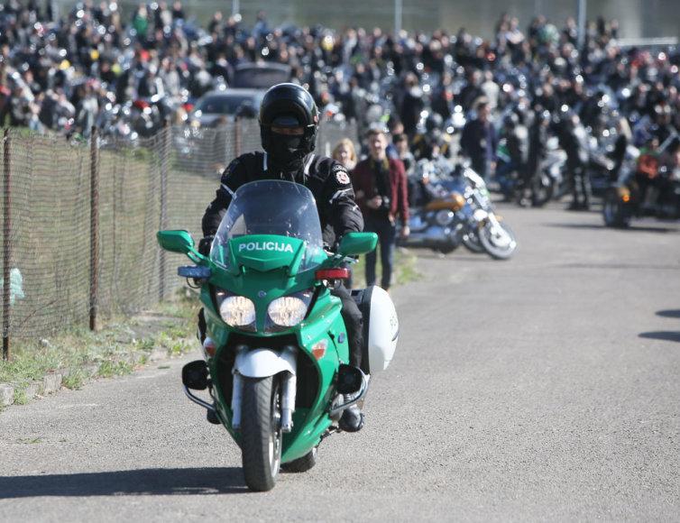 Motociklų sezono atidarymas Kaune