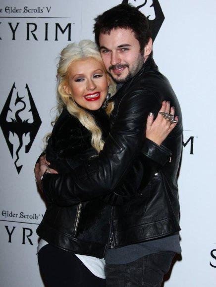 Christina Aguilera ir Matthew Rutleris