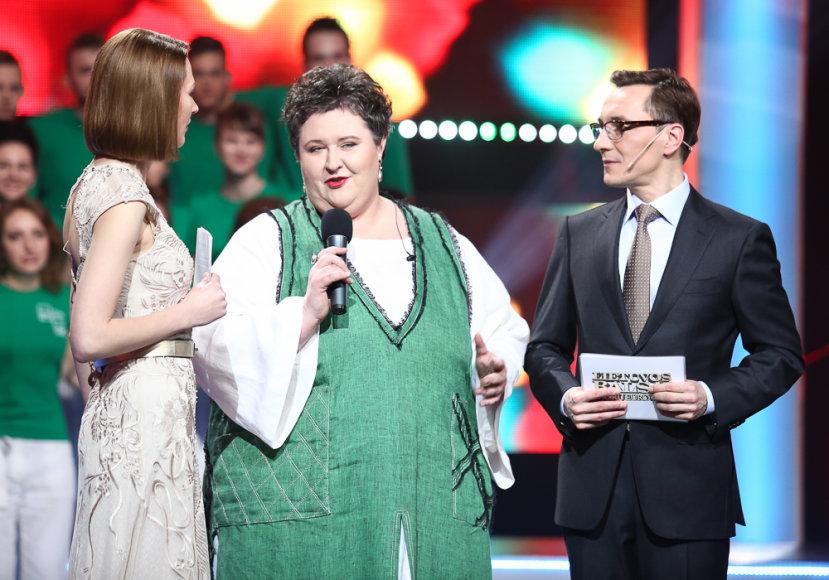 Beata Tiškevič, Danguolė Beinarytė ir Andrius Rožickas