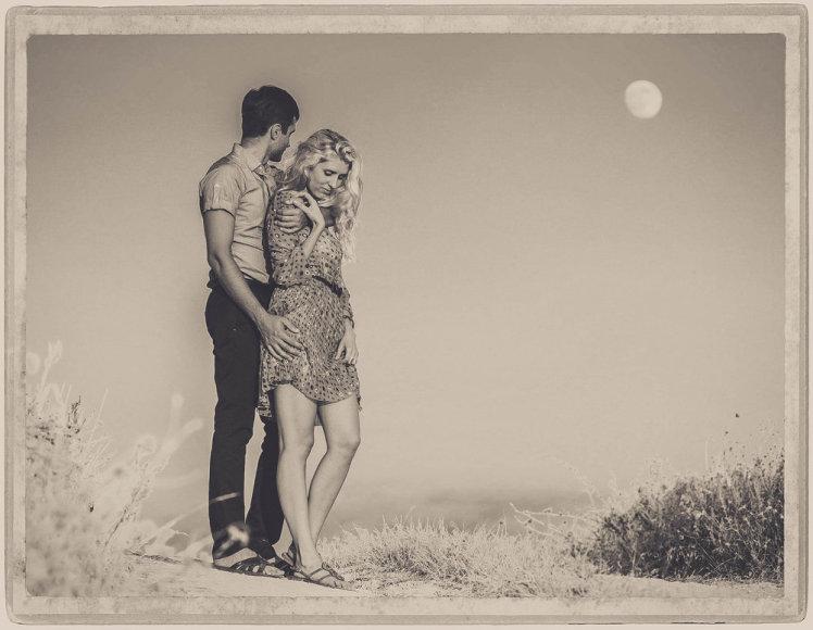 Įsimylėjusi pora.