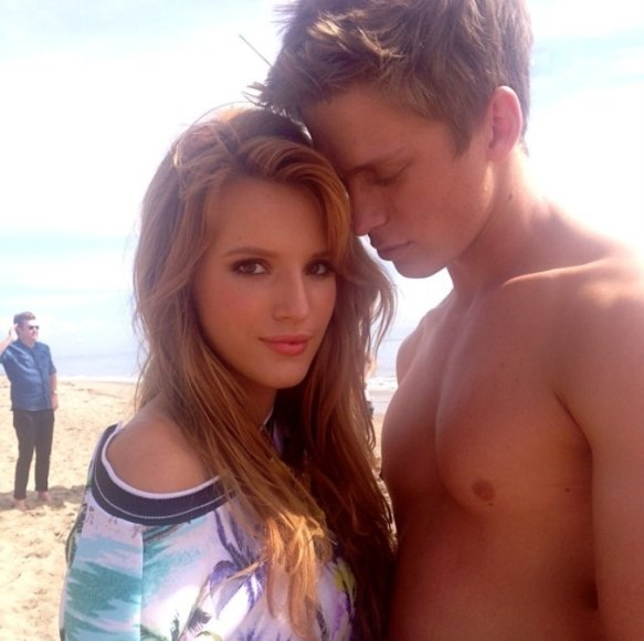 Bella Thorne ir Tristanas Klieras