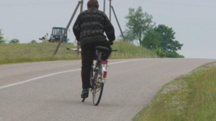 Svyruojantis dviratininkas