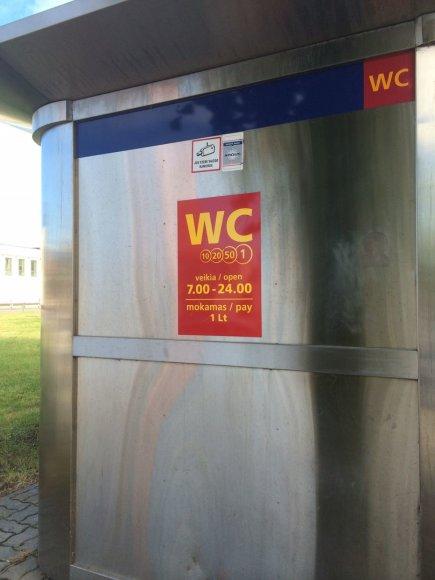 Klaipėdos viešasis tualetas