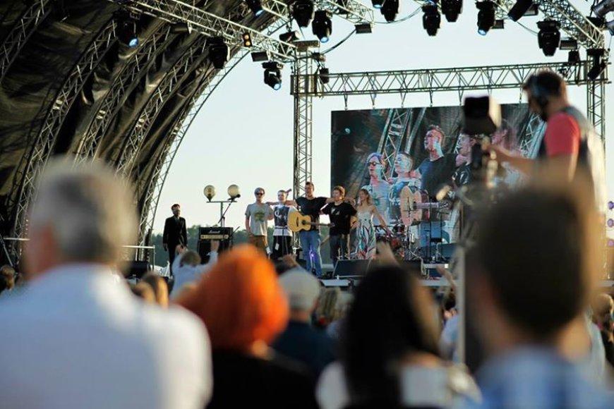 Grupė Karma / Akimirkos iš koncerto / Asmeninio archyvo nuotr.