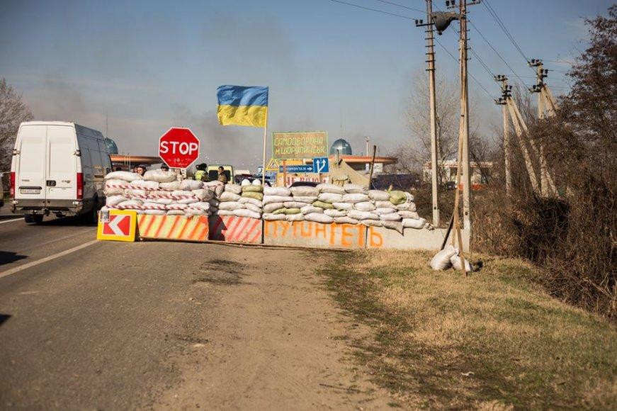 Kaip atrodo rytų Ukraina