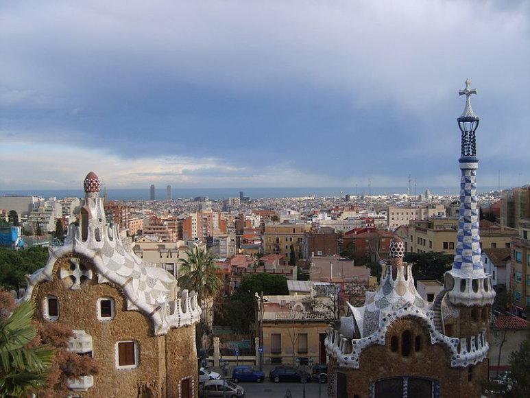 Barcelonos panorama