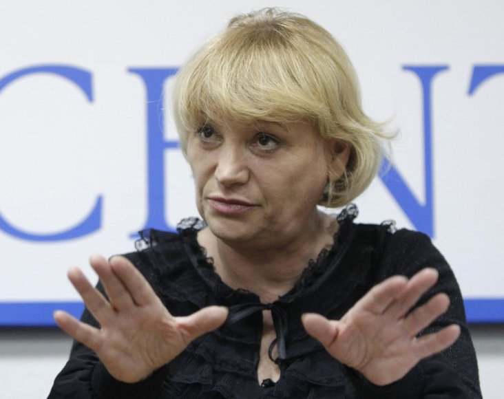 """""""Golos"""" direktorė Lilija Šibanova"""