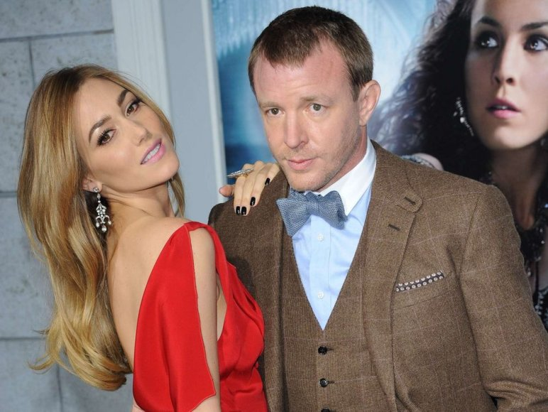 Jacqui Ainsley ir Guy Ritchie