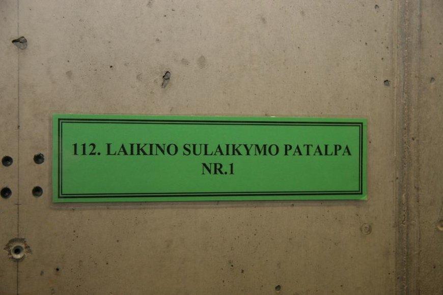 Laikino sulaikymo patalpa Kauno oro uoste