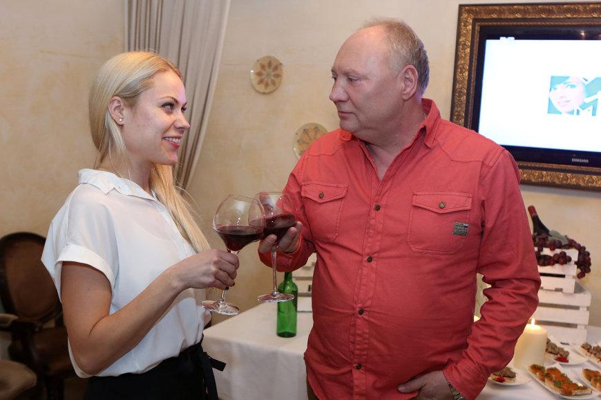 Nijolė Pareigytė-Rukaitienė ir Aleksandras Ivanauskas-Fara