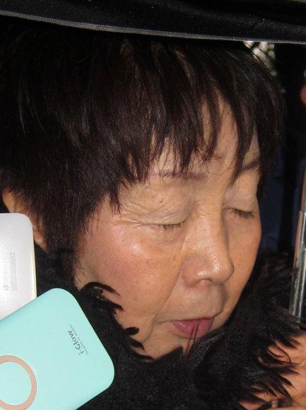 Japonijos juodoji našlė Chisako Kakehi
