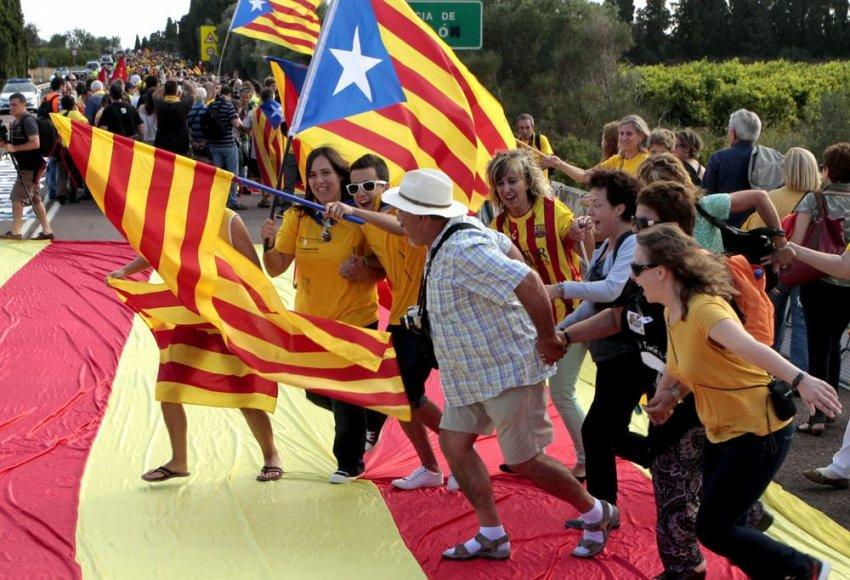 Katalonai siekia nepriklausomybės nuo Ispanijos