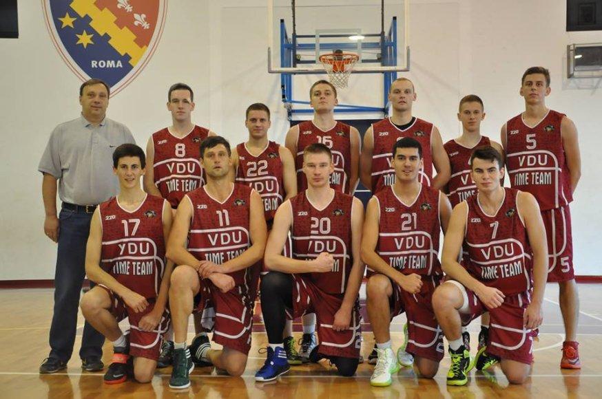 VDU krepšinio komanda