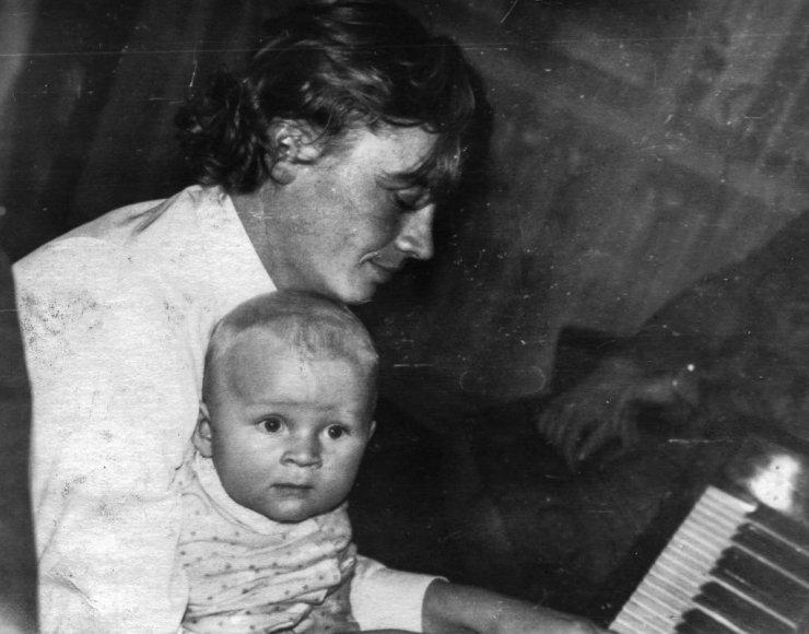 Julius Andrejevas su sūnumi Ignu
