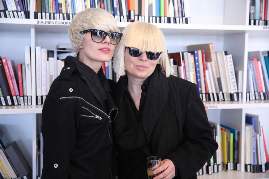 Renata Mikailionytė ir Sandra Straukaitė