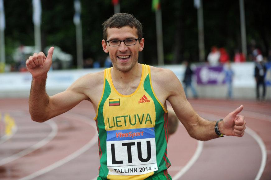 Bėgikas Justinas Beržanskis