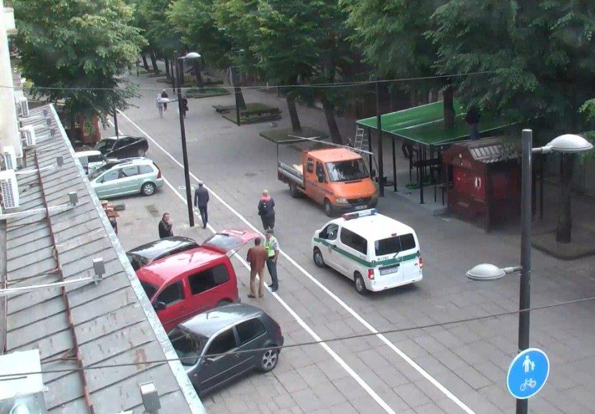 Kaune vaizdo kameros užfiksuoja daug pažeidimų
