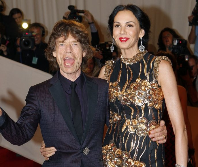 Mickas Jaggeris ir L'Wren Scott (2011 m. gegužės 2 d.)