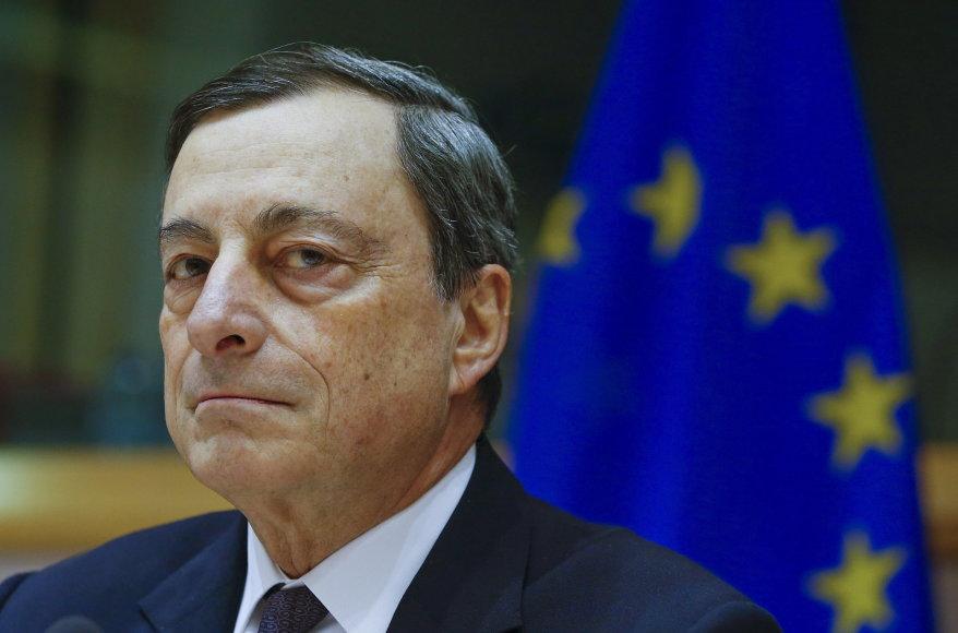 ECB vadovas Mario Draghis