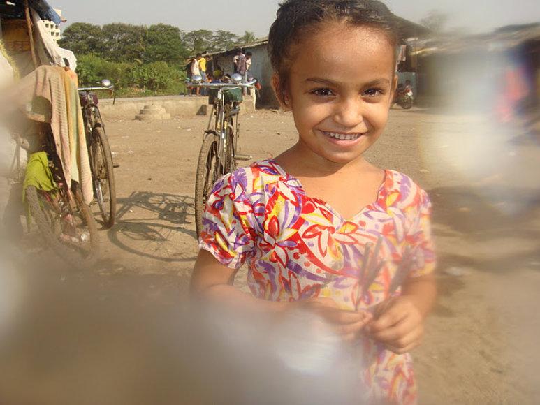 Indijos lūšnyno mergaitė