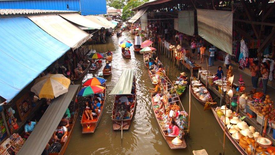 Turgus ant vandens Tailande