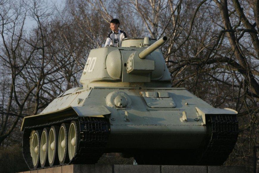 SSRS Antrojo pasaulinio karo memorialas Berlyne