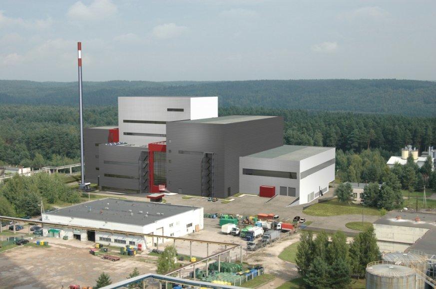 Taip atrodys būsimoji Energijos iš atliekų jėgainė